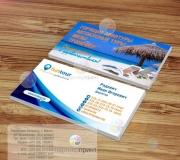 Дизайн визитки турагентства (2)