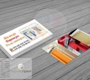Дизайн визитки жалюзи карнизы (2)