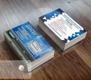 Дизайн визитки грузоперевозки дарсер (2)